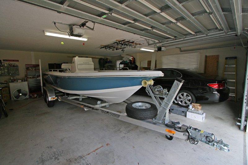 What boat 50 fresh multi species 50 salt near shore for Boat garages